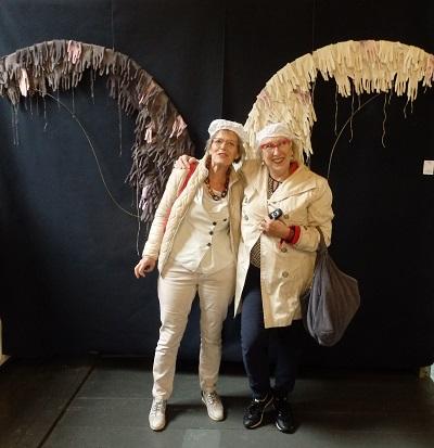 Gonny de Bekker en Marga Lansink