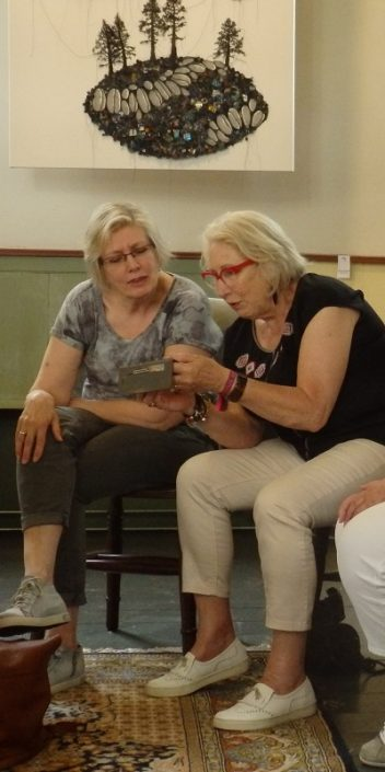 Marieke Steenhorst en Marga Lansink