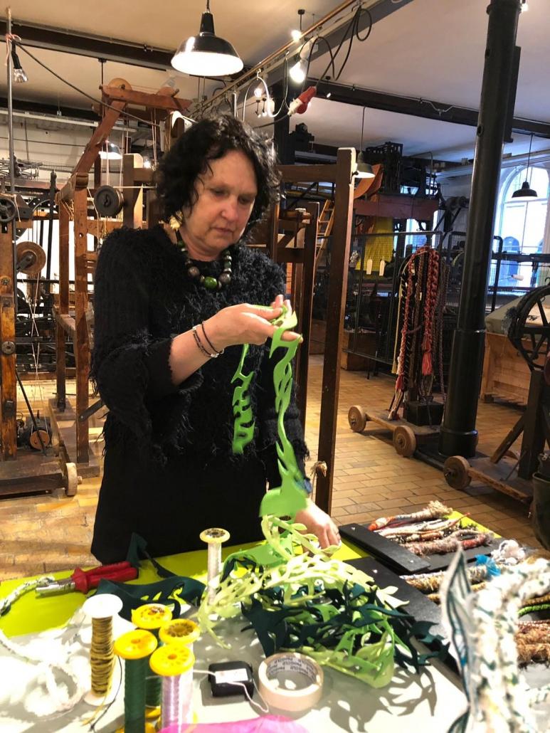 StiQS textielmuseum Passementen 2019